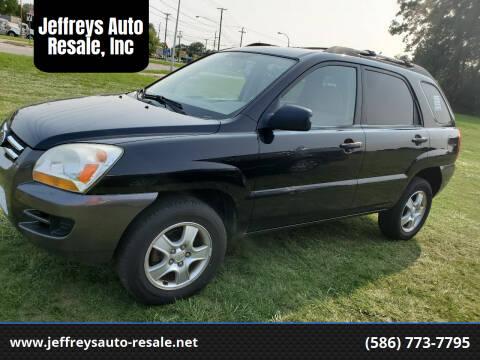 2008 Kia Sportage for sale at Jeffreys Auto Resale, Inc in Clinton Township MI