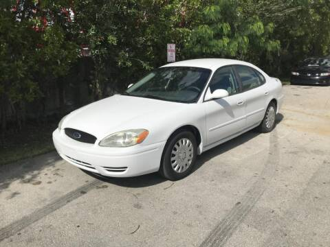 2007 Ford Taurus for sale at Zak Motor Group in Deerfield Beach FL