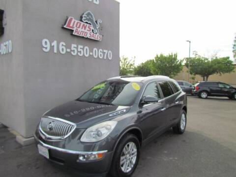 2012 Buick Enclave for sale at LIONS AUTO SALES in Sacramento CA