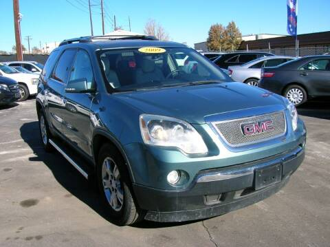 2009 GMC Acadia for sale at Avalanche Auto Sales in Denver CO