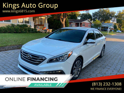 2016 Hyundai Sonata for sale at Kings Auto Group in Tampa FL