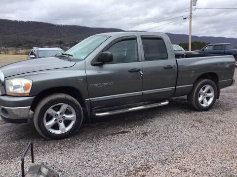 2006 Dodge Ram Pickup 1500 for sale at Troys Auto Sales in Dornsife PA