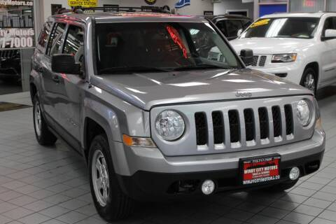 2016 Jeep Patriot for sale at Windy City Motors in Chicago IL