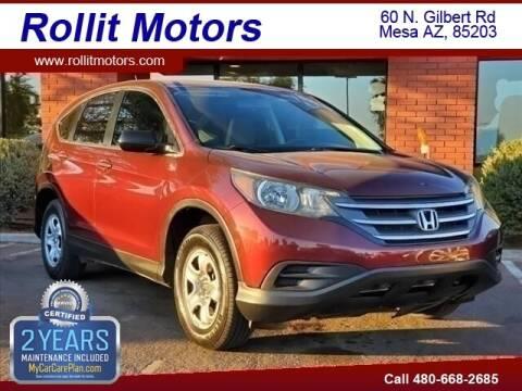 2014 Honda CR-V for sale at Rollit Motors in Mesa AZ