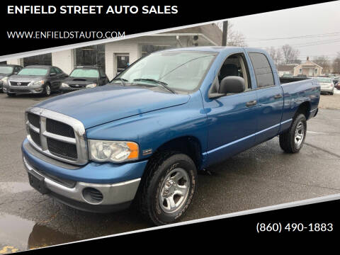 2004 Dodge Ram Pickup 1500 for sale at ENFIELD STREET AUTO SALES in Enfield CT