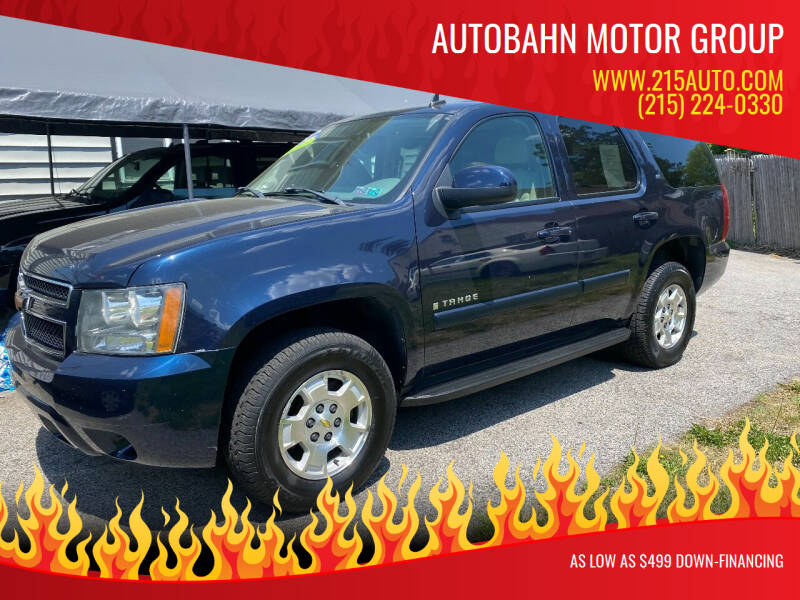 2007 Chevrolet Tahoe for sale at Autobahn Motor Group in Willow Grove PA