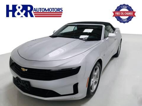 2019 Chevrolet Camaro for sale at H&R Auto Motors in San Antonio TX