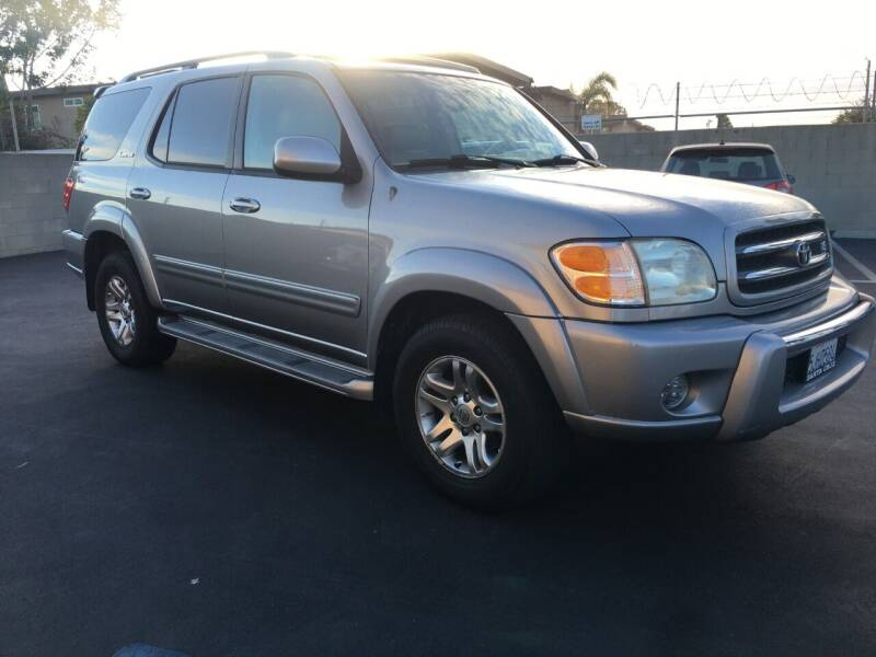 2003 Toyota Sequoia for sale at American Wholesalers in Huntington Beach CA