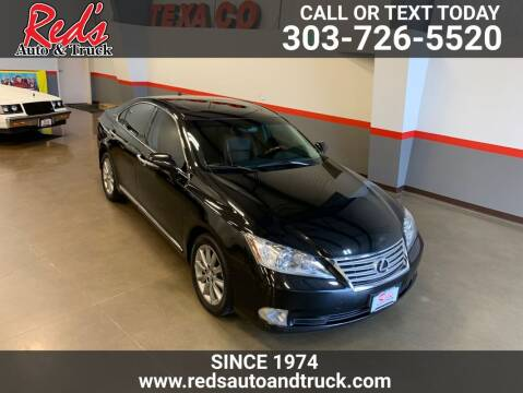 2012 Lexus ES 350 for sale at Red's Auto and Truck in Longmont CO
