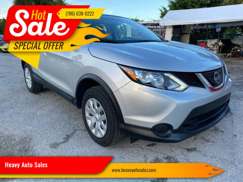 2017 Nissan Rogue for sale at Heavy Auto Sales in Miami FL