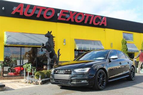 2014 Audi S4 for sale at Auto Exotica in Red Bank NJ