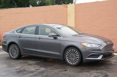 2018 Ford Fusion for sale at Concept Auto Inc in Miami FL