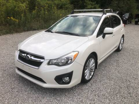 2012 Subaru Impreza for sale at R.A. Auto Sales in East Liverpool OH