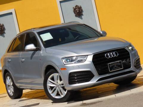 2018 Audi Q3 for sale at Paradise Motor Sports LLC in Lexington KY