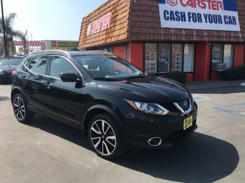2017 Nissan Rogue Sport for sale at CARSTER in Huntington Beach CA