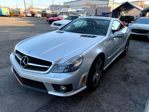 2011 Mercedes-Benz SL-Class for sale at Moody's Auto Connection LLC in Henderson NV