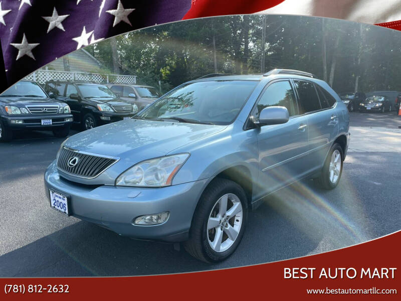 2006 Lexus RX 330 for sale at Best Auto Mart in Weymouth MA