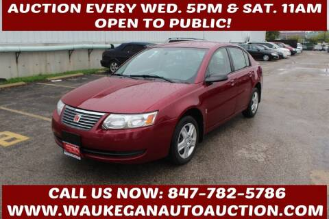 2007 Saturn Ion for sale at Waukegan Auto Auction in Waukegan IL