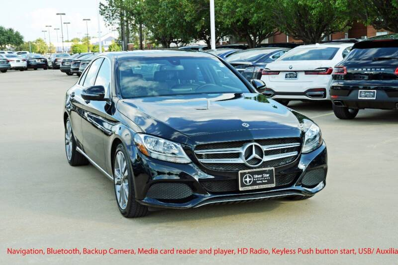 2018 Mercedes-Benz C-Class for sale at Silver Star Motorcars in Dallas TX
