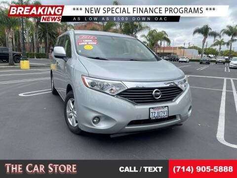 2016 Nissan Quest for sale at The Car Store in Santa Ana CA