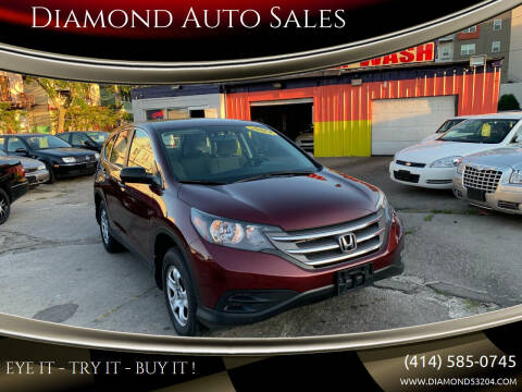 2013 Honda CR-V for sale at Diamond Auto Sales in Milwaukee WI