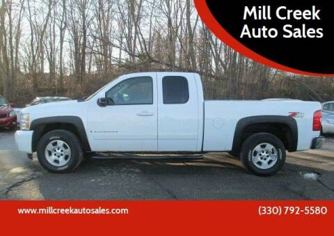 2008 Chevrolet Silverado 1500 for sale at Mill Creek Auto Sales in Youngstown OH
