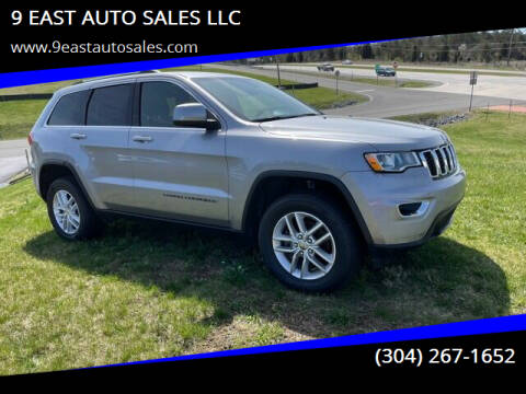 2017 Jeep Grand Cherokee for sale at 9 EAST AUTO SALES LLC in Martinsburg WV