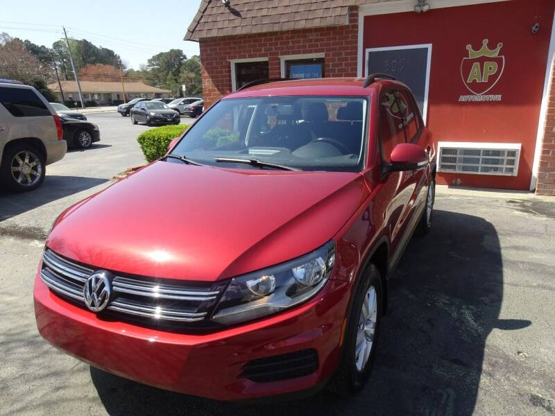 2015 Volkswagen Tiguan for sale at AP Automotive in Cary NC