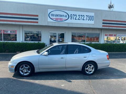 1999 Lexus GS 300 for sale at Traditional Autos in Dallas TX