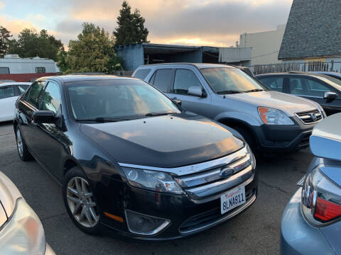 2010 Ford Fusion for sale at Blue Eagle Motors in Fremont CA