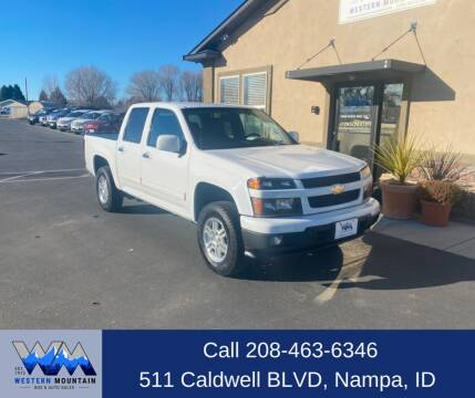 2012 Chevrolet Colorado for sale at Western Mountain Bus & Auto Sales in Nampa ID