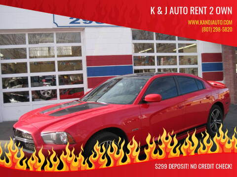 2014 Dodge Charger for sale at K & J Auto Rent 2 Own in Bountiful UT
