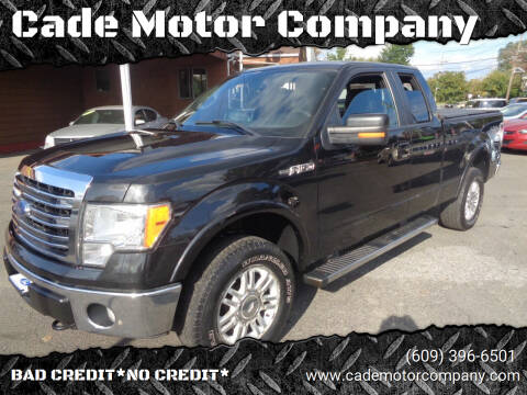 2013 Ford F-150 for sale at Cade Motor Company in Lawrence Township NJ