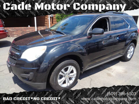 2011 Chevrolet Equinox for sale at Cade Motor Company in Lawrenceville NJ