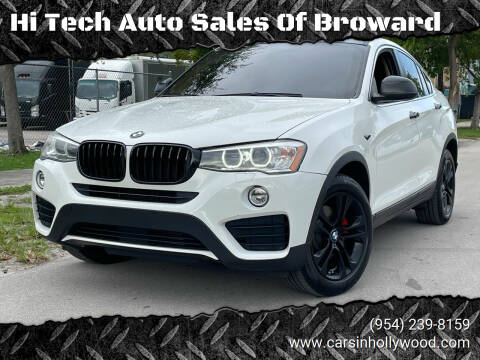 2015 BMW X4 for sale at Hi Tech Auto Sales Of Broward in Hollywood FL