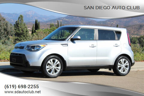 2015 Kia Soul for sale at San Diego Auto Club in Spring Valley CA