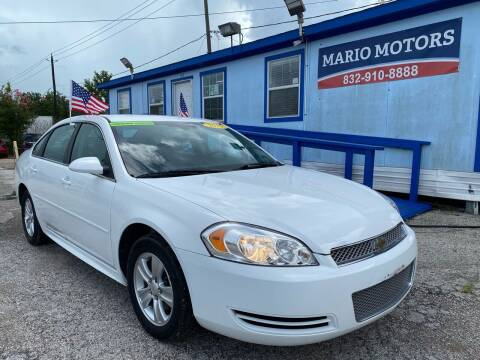 2015 Chevrolet Impala Limited for sale at Mario Motors in South Houston TX