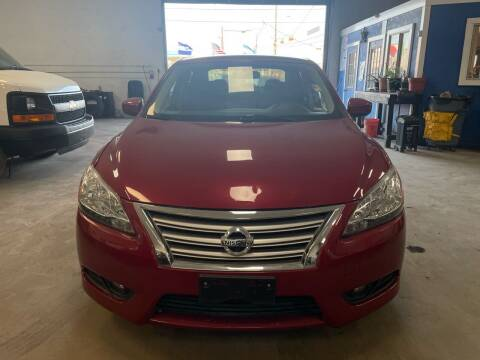 2013 Nissan Sentra for sale at Ricky Auto Sales in Houston TX