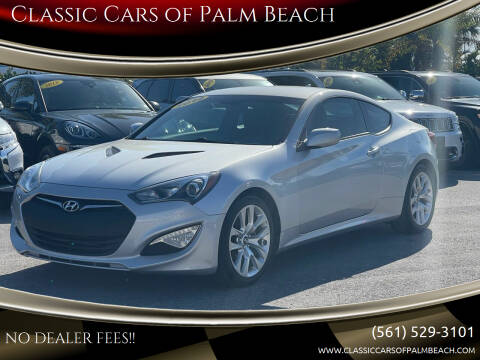 2014 Hyundai Genesis Coupe for sale at Classic Cars of Palm Beach in Jupiter FL