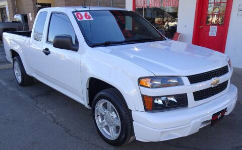 2006 Chevrolet Colorado for sale at VISTA AUTO SALES in Longmont CO
