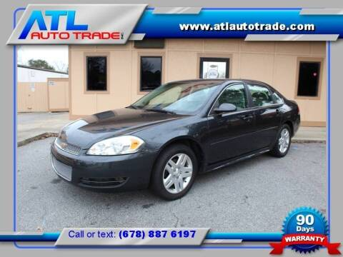 2016 Chevrolet Impala Limited for sale at ATL Auto Trade, Inc. in Stone Mountain GA