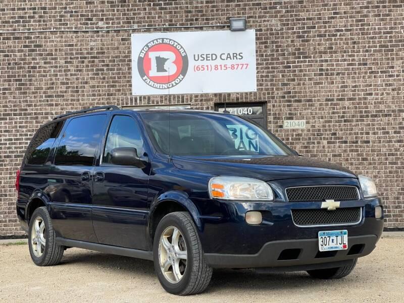 2005 Chevrolet Uplander for sale at Big Man Motors in Farmington MN