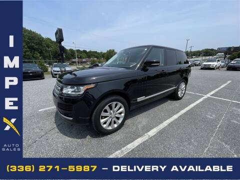 2014 Land Rover Range Rover for sale at Impex Auto Sales in Greensboro NC