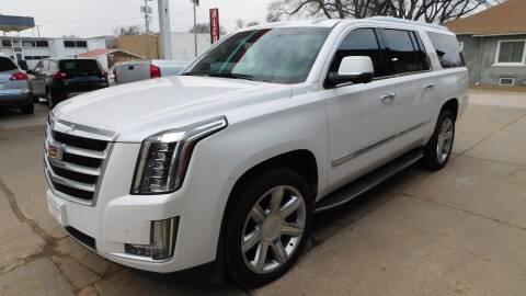 2016 Cadillac Escalade ESV for sale at Mid Kansas Auto Sales in Pratt KS