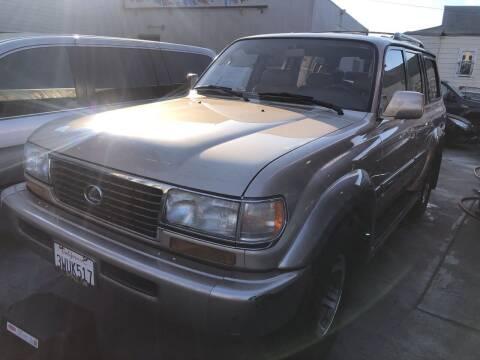 1997 Lexus LX 450 for sale at Excelsior Motors , Inc in San Francisco CA