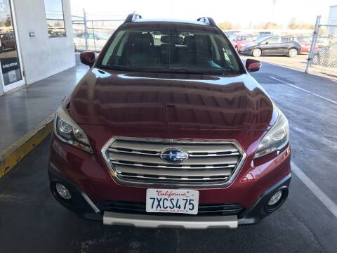 2015 Subaru Outback for sale at Auto Outlet Sac LLC in Sacramento CA