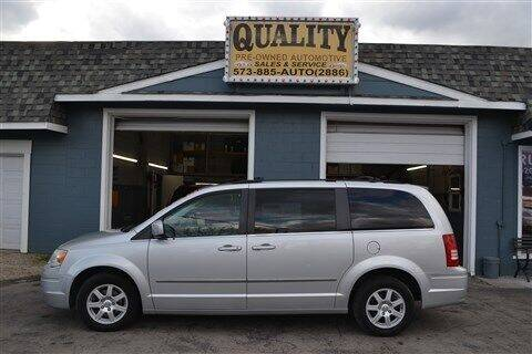 2010 Chrysler Town and Country for sale at Quality Pre-Owned Automotive in Cuba MO