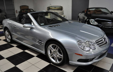2005 Mercedes-Benz SL-Class for sale at Podium Auto Sales Inc in Pompano Beach FL