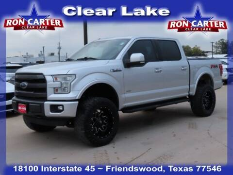 2015 Ford F-150 for sale at Ron Carter  Clear Lake Used Cars in Houston TX