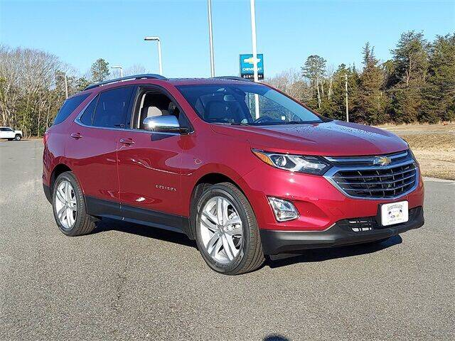 2021 Chevrolet Equinox for sale at Gentilini Motors in Woodbine NJ